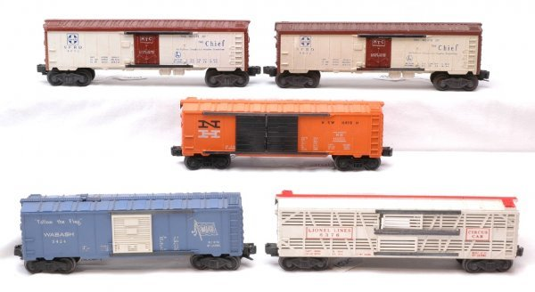2021: Lionel 6468-25 6376 6672 3424 Freight Cars