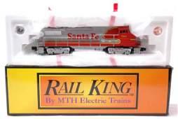 2047: MTH RK-2004 Santa Fe Dash-8 Diesel LN Boxed