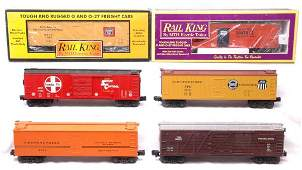 2059: MTH 7803 7860 7807 7800 7105 7406 Freight Cars LN