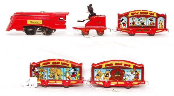 1: Pride Lines Mickey Mouse Circus Train Set