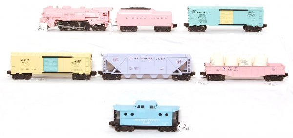 2: Lionel 1587S girls train set, profession repro.