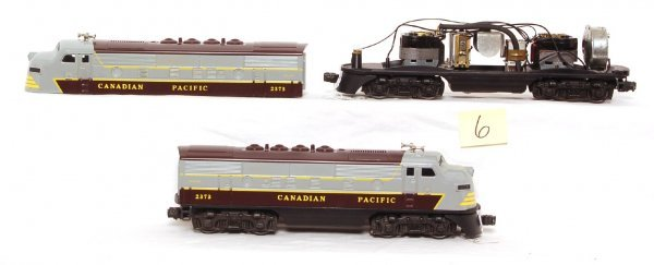 6: Lionel 2373 Canadian Pacific F-3 A-A units