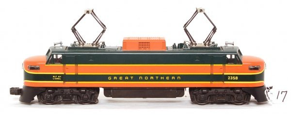 17: Lionel No. 2358 Great Northern EP-5