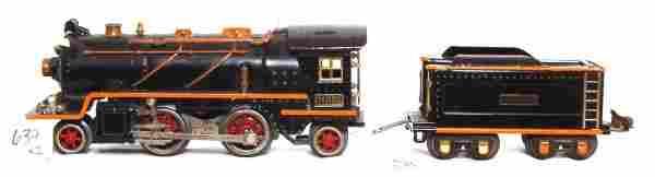 639: Lionel prewar 262E loco and tender