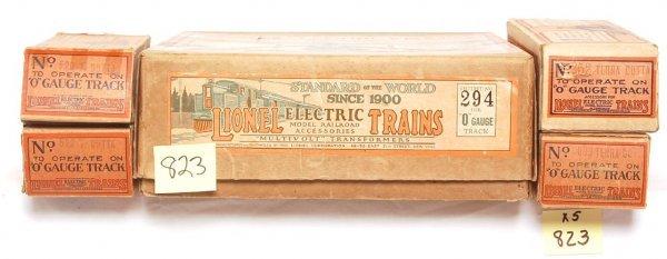 823: Lionel prewar 294 set box w/four internal boxes