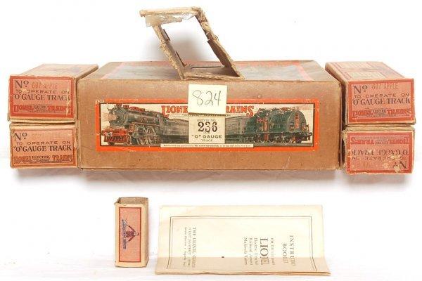 824: Prewar Lionel 236 set box, five internal boxes