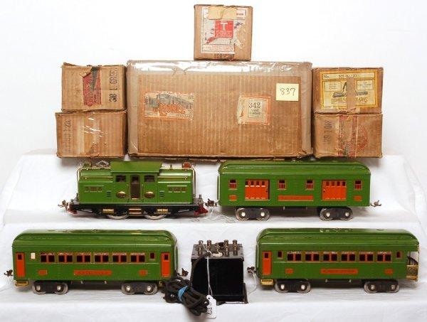 837: Lionel 342 boxed set, 318, 309, 310, 312