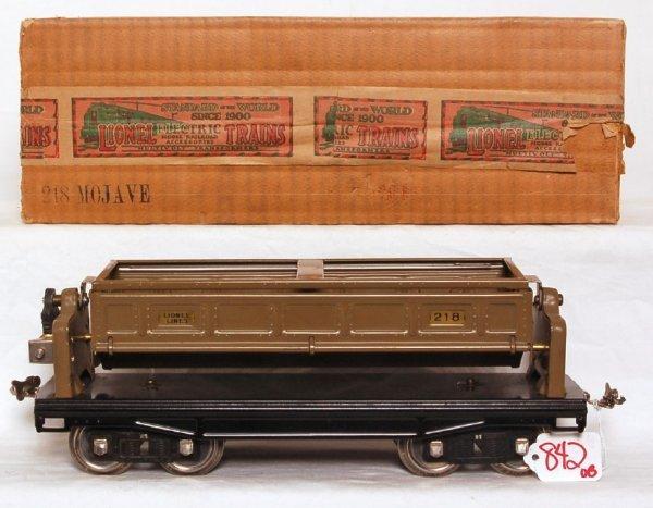 842: Lionel prewar standard gauge 218 dump car OB