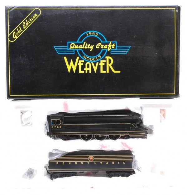 2008: Weaver Pennsy Torpedo 4-6-2 Pacific MINT Boxed