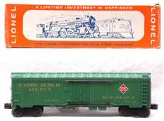2426 Lionel 6572 REA Refrigerator Car MINT Boxed
