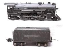 2535 Lionel Gun Metal 225E Steam with 2225W Tender