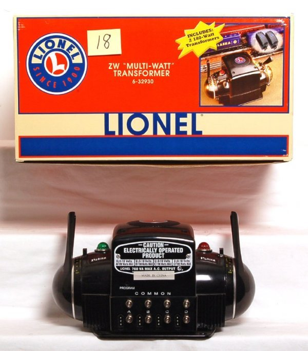 18: Lionel 32930 ZW controller w/two transformers