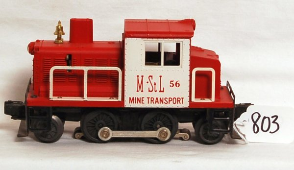 803: Nice Lionel 56 MStL switcher, OB