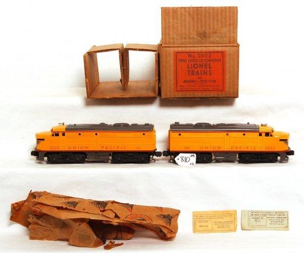 810: Nice Lionel 2023 Union Pacific Alco AA units MC