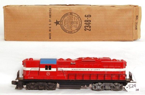 824: Lionel 2348 MStL GP, OB