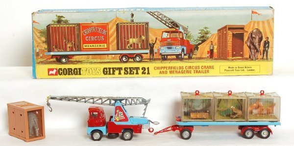 1504: Corgi Toys Gift Set No. 21 ChipperfieldÕs Circus