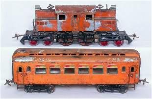 Ives WG orange pass. set 3243 187-3 188-3 189-3