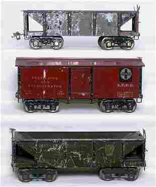 Six Ives WG freight cars: 191 192 193 194 195 196
