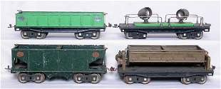 Lionel SG 212 216 218 220 freight cars