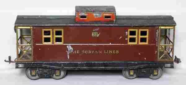 219: Dorfan WG 3931 Dorfan Lines caboose