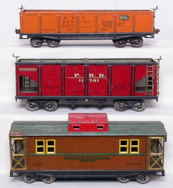 253: Dorfan wide gauge freight cars