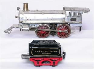 Marklin gauge 1 steam engine and tender