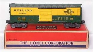 Lionel 6464-300 Rutland boxcar in the box