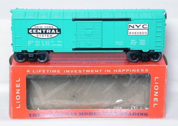309: Lionel 6464-900 New York Central in box, mint