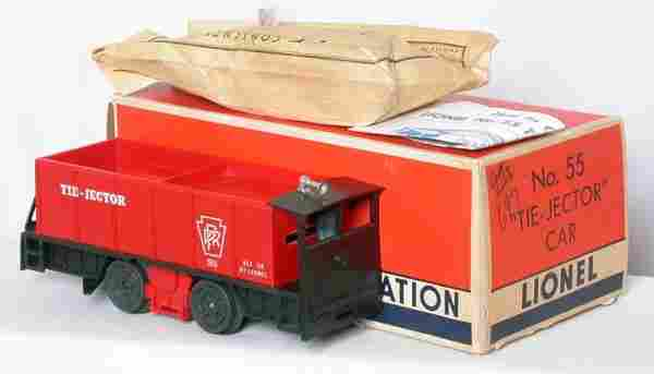 Lionel 55 Tie Jector with slot, OB