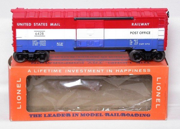315: Mint Lionel 6428 US Mail boxcar in box