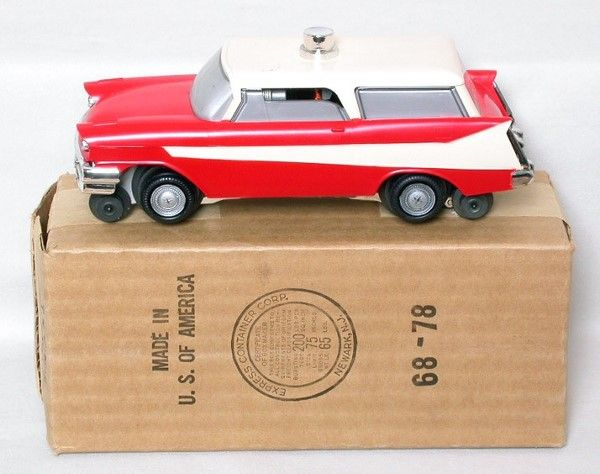 Mint Lionel 68 executive inspection car in box