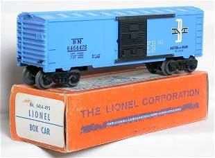 Mint Lionel 6464-475 Boston and Maine in box