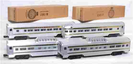543: Mint Lionel 13088 Santa Fe passenger set in OB