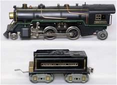 787: American Flyer prewar steam loco with a 3199