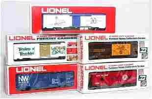 Lionel TCA LCCA cars 7812 9771 9864 9259 7803