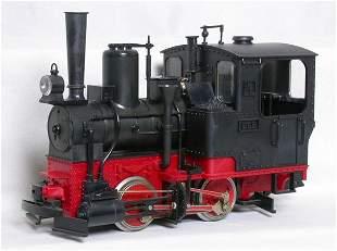 LGB 2040 black 0-4-0T locomotive