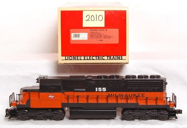 2010: Lionel 18224 Great Northern SD-40 in OB