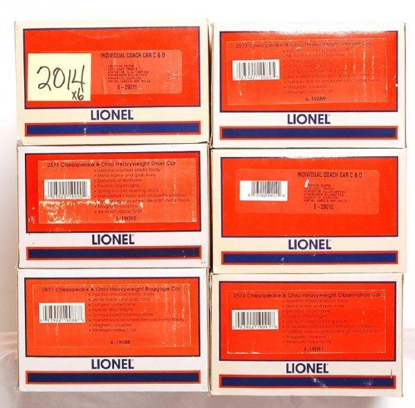 2014: Lionel 19088, 19089, 19090, 19091, 29011, 29012