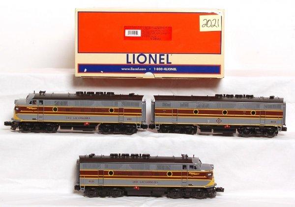 2021: Lionel 24534 Erie Lackawanna F3 A-B-A units