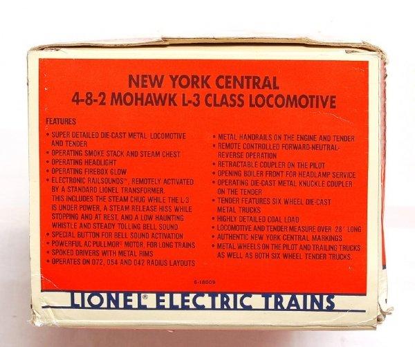 2022: Lionel 18009 New York Central 4-8-2 Mohawk L-3