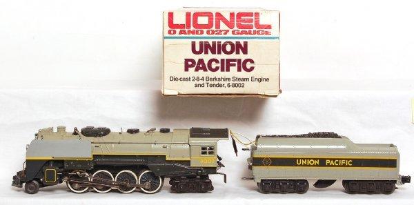 2024: Lionel 8002 Union Pacific 2-8-4 Berkshire in OB