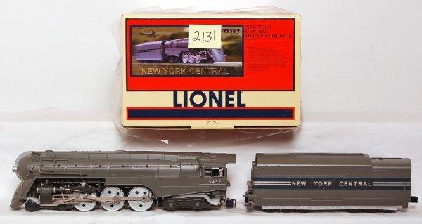 2131: Lionel 28084 NYC Dreyfuss Hudson w/RailSounds