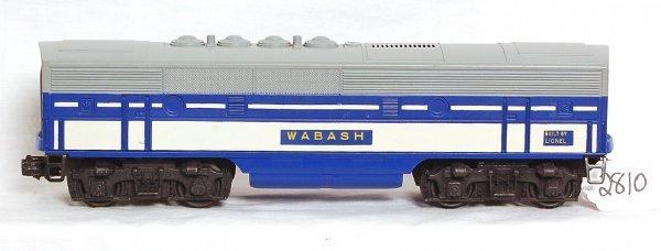 2810: Mint Lionel 2240C Wabash F3 B unit only