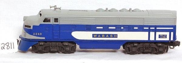 2811: Lionel 2240 Wabash power unit only