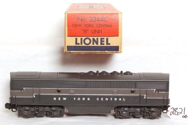 2821: Lionel 2344C New York Central B unit, OB