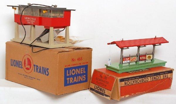 3: Lionel 156 platform 465 sound dispatching station