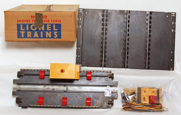 5: Lionel 350 transfer table and 350-50  in OB