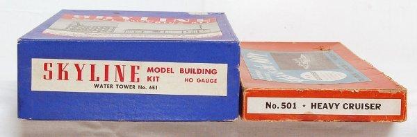 14: Two Skyline Model Building kits in OB 501, 651