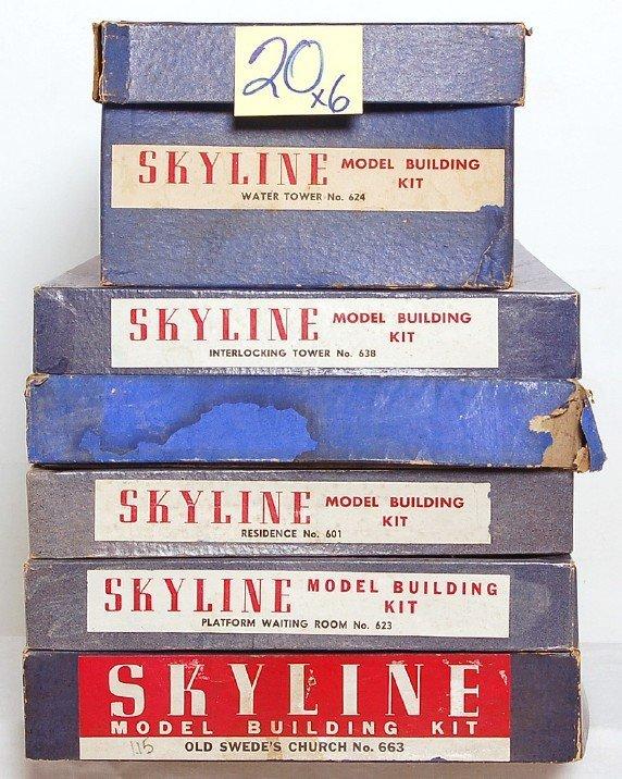 20: Skyline 663, 623, 601, 638, 624 in OB