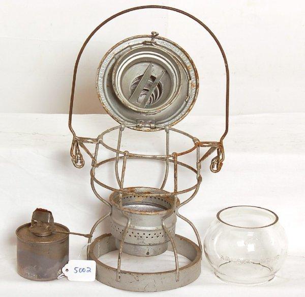5002: Monon Adams and Westlake engineers lantern